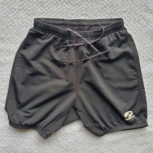 Brooks/ Active Black Shorts/ Size Medium